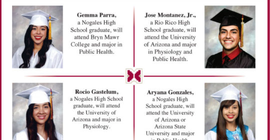 Mariposa Community Health Center congratulates the winners of the Mariposa Scholarship Program for 2016!