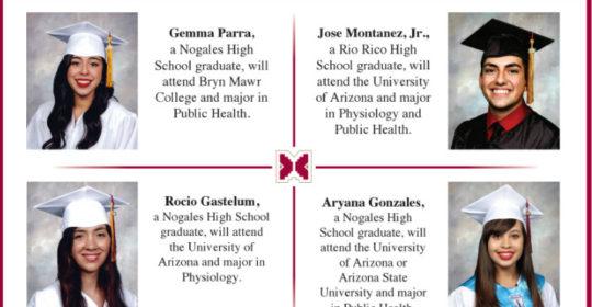 Mariposa Community Health Center congratulates the winners of the Mariposa Scholarship Program for 2016!