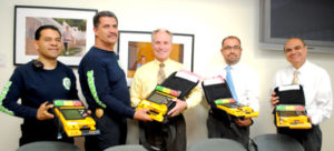 MCHC Donates AEDs to Nogales Sonora Fire Department