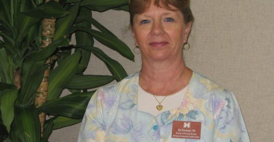 Gail Randolph, RN, Director of Nursing, retires after 35 years at Mariposa