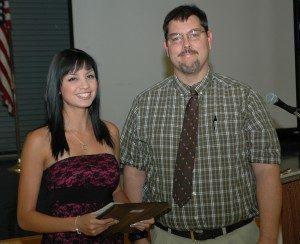 Winners of Mariposa 2012 health care scholarships