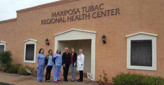 Senator Andrea Dalessandro visits Tubac site